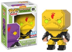 2017 NYCC Exclusive Pop! - 8-Bit: TMNT Foot Soldier (Yellow)