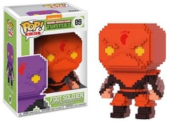 2017 NYCC Exclusive Pop! - 8-Bit: TMNT Foot Soldier (Red)