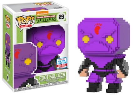 2017 NYCC Exclusive Pop! - 8-Bit: TMNT Foot Soldier (Purple)