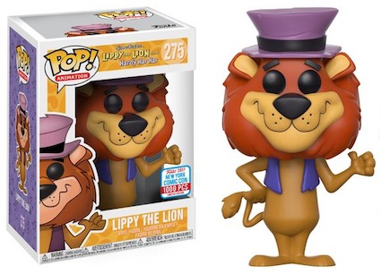2017 NYCC Exclusive Pop! - Animation: Hanna Barbera - Lippy The Lion