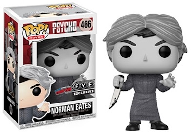 2017 NYCC Exclusive Pop! - Psycho - Norman Bates (Black & White)