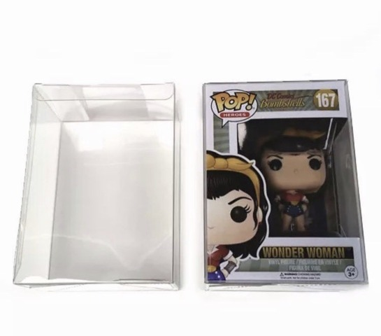 Chalice Funko POP Protector Box (0.35 mm) Clear Plastic Lot of 20