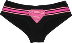 Supergirl Glitter Logo Panty