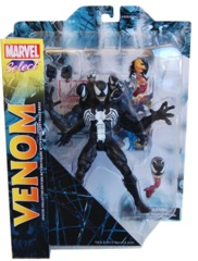 Venom, Marvel Select Action Figure with detailed base