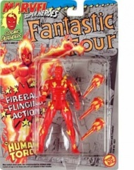 Human Torch with Fireball Flinging Action, Marvel Super Heroes Fantastic Four