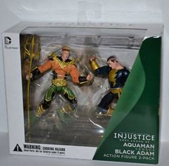 Aquaman Versus Black Adam Action Figure 2-Pack, Injustice: Gods Among Us