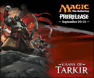 Khans of Tarkir Prerelease Kit - Black
