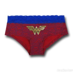 Wonder Woman Lace/Foil Panty