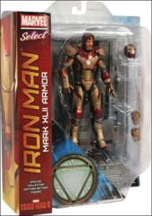 Iron Man: Mark XLII Armor, Marvel Select Action Figure with detailed base