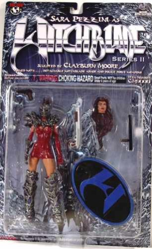 New! action figure #1 Witchblade Sara Pezzini as Witchblade Series II