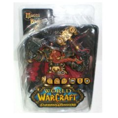Magni Bronzebeard, World of Warcraft Action Figure, Series 6