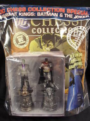 Variant Kings: Batman & The Joker, DC Chess Collection Special, Magazine and Figurines