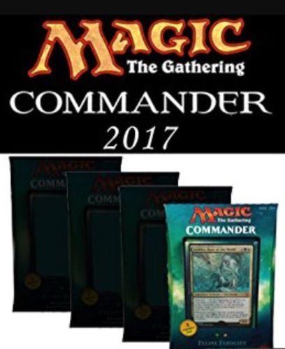 Commander 2017: Set of 4