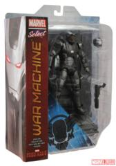 War Machine, Marvel Select Action Figure with detailed base
