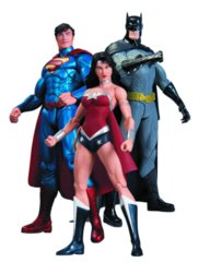 Superman, Wonder Woman, & Batman Action Figure 3-Pack, Trinity War DC Collectibles