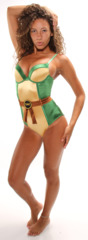 Teenage Mutant Ninja Turtles Womens Leotard