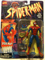 Spider-Man, Web Shooter with Web Projectile, Spider-Man the New Animated Series Marvel Comics