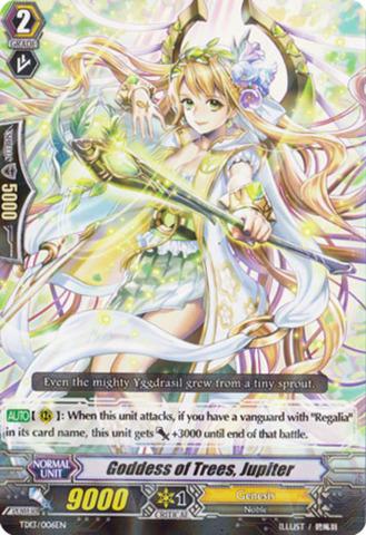 Goddess of Trees, Jupiter TD13/006EN