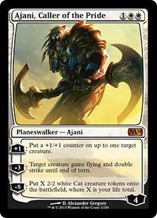 Ajani, Caller of the Pride - Foil