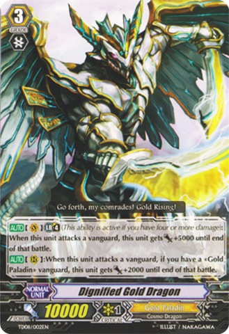 Dignified Gold Dragon - TD08/002EN