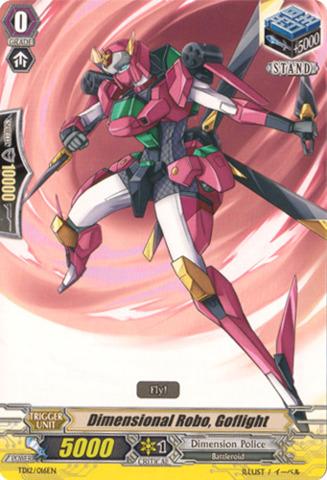 Dimensional Robo, Goflight TD12/016EN
