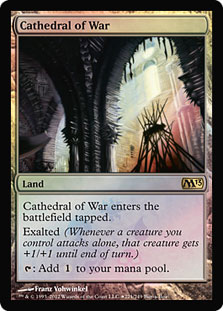Cathedral of War (Magic 2013 Buy-a-Box Promo)