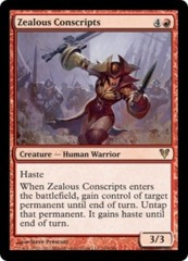 Zealous Conscripts on Channel Fireball