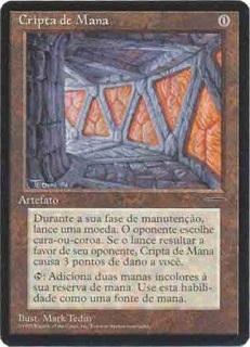 Mana Crypt (Book Promo) (Portuguese)