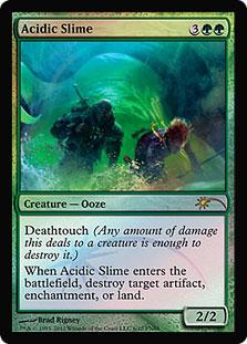 Acidic Slime (FNM Foil)