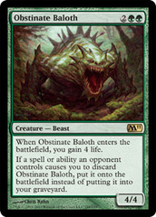 Obstinate Baloth on Channel Fireball