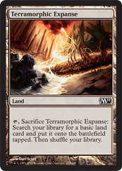 Terramorphic Expanse on Channel Fireball