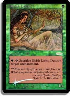 Elvish Lyrist (JSS Foil)