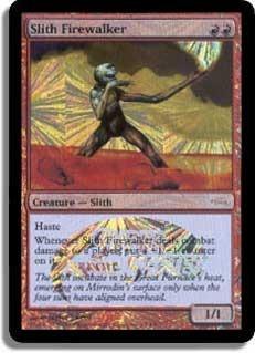 Slith Firewalker (European JSS Foil - E05)