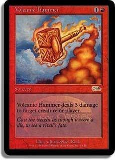 Volcanic Hammer (JSS Foil)