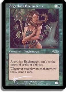 Argothian Enchantress (Judge Foil)