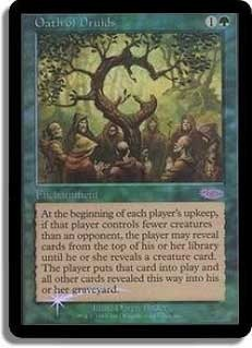 Oath of Druids (Judge Foil)