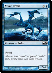 Azure Drake - Foil on Channel Fireball