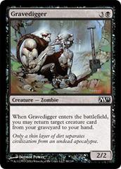 Gravedigger - Foil on Channel Fireball