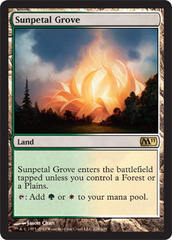 Sunpetal Grove - Foil on Channel Fireball