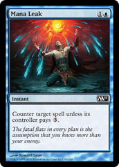 Mana Leak - Foil on Channel Fireball