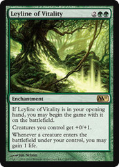 Leyline of Vitality - Foil