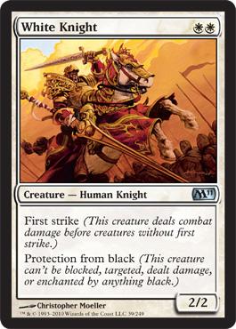 White Knight - Foil
