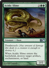 Acidic Slime - Foil on Channel Fireball