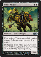 Black Knight - Foil on Channel Fireball