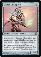 Etched Champion - Foil on Channel Fireball