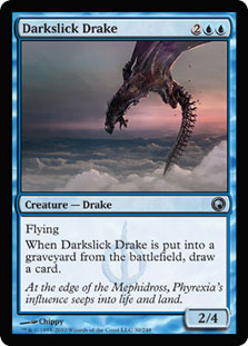 Darkslick Drake - Foil