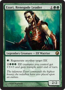 Ezuri, Renegade Leader - Foil