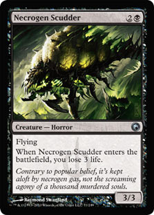 Necrogen Scudder - Foil