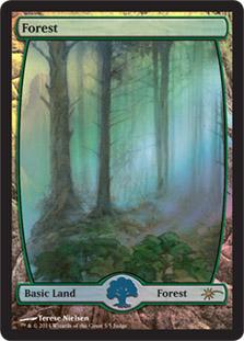 Forest - Extended Art (Judge Foil)