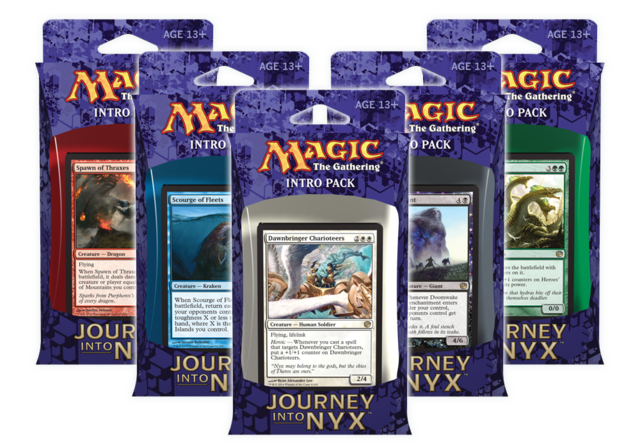 Journey Into Nyx Intro Pack - Set of 5